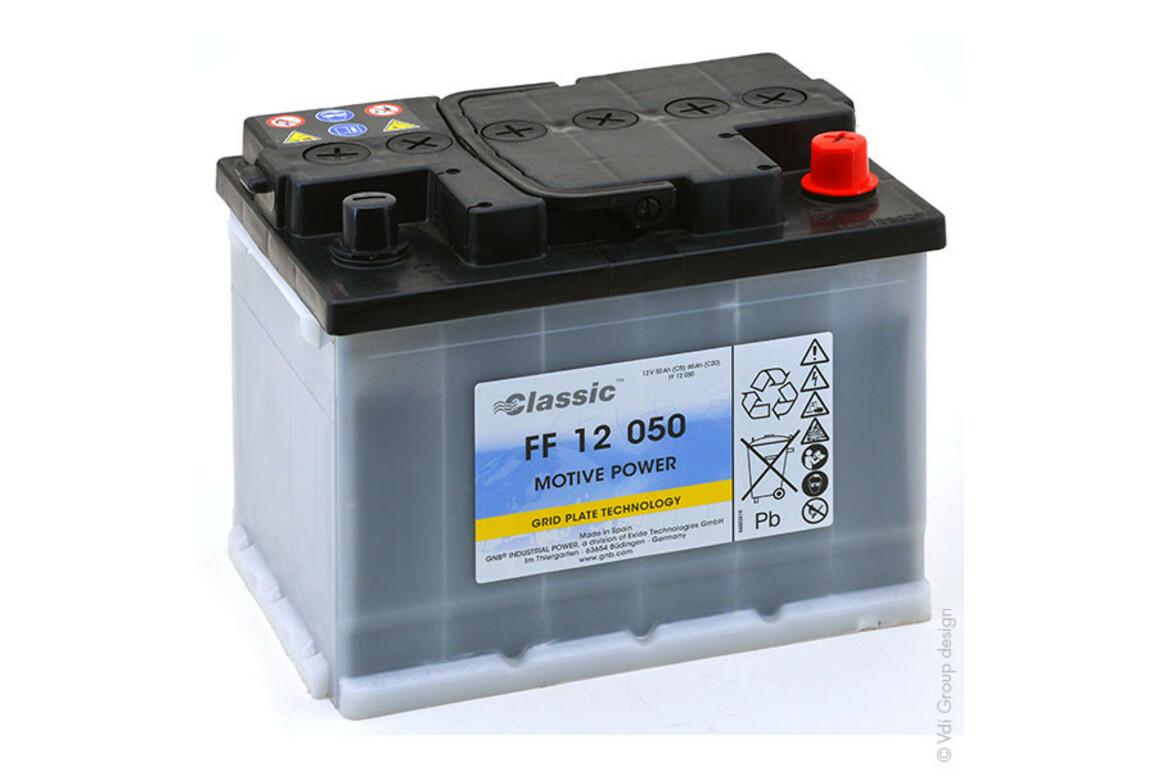 Exide FF 12050, Art.-Nr. 506099 - Akku Mäser - B2B-Shop